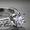 Кольцо из белого золота с бриллиантом Tiffany & Co (Тиффани) #805930