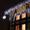 Украшение дома к Новому году, новогоднее освещение, праздничная иллюминация #981067