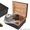 Хьюмидоры кедровые с набором: пепельница,  гильотина,  футляр для сигар #1631249