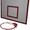 Баскетбольный щит металл 0, 8м. х 1, 0м. с кольцом #1545677