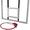 Баскетбольный щит оргстекло (10 мм.) 0, 8м. х 1, 0м. с кольцом  #1545678