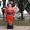 Надувная японка зазывала для суши баров #1692018