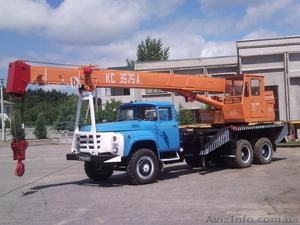 Услуги автокранов по г. Бровары и Киевской области. - Изображение #1, Объявление #706683