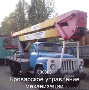 Услуги (Аренда) автовышек Бровары  Киевская область. - Изображение #1, Объявление #1022423
