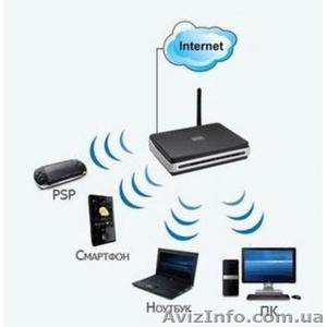 Установка беспроводного интернета Wi-Fi - Изображение #1, Объявление #1021847