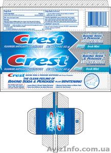Отбеливающая зубная паста Crest Baking Soda & Peroxide Whitening - USA - Изображение #2, Объявление #1152398