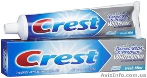 Отбеливающая зубная паста Crest Baking Soda & Peroxide Whitening - USA - Изображение #1, Объявление #1152398