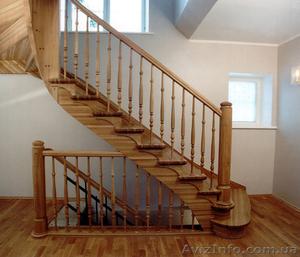 Лестницы из натурального дерева под заказ. - Изображение #1, Объявление #1361708