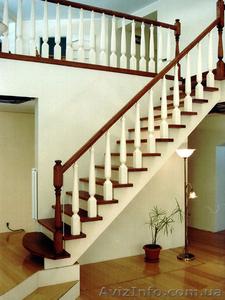 Изготовление деревянных лестниц. - Изображение #1, Объявление #1378396