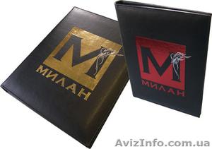 Папки меню, изготовление из кожи, кожзама, ламинированного картона (Киев)    - Изображение #7, Объявление #650398