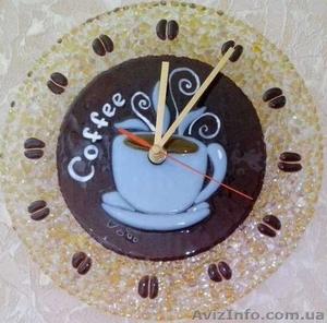 Декоративные часы для интерьера. Фьюзинг, кристаллы Сваровски. - Изображение #5, Объявление #1454610