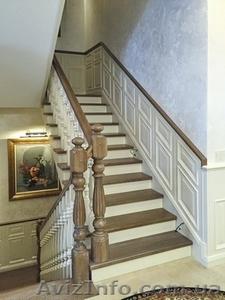 Лестницы деревянные для дома и дачи. - Изображение #1, Объявление #1496828