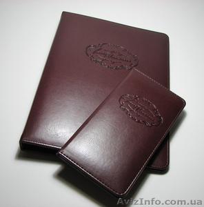 Папки для меню, счетницы, карта вин, изготовление папок меню Киев - Изображение #4, Объявление #693740