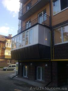 Пластиковые балконы и лоджии Rehau под ключ от Дизайн Пласт®  - Изображение #2, Объявление #1523132