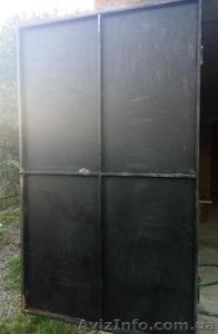 Ворота гаражные глухие с калиткой, ворота гаражные глухие 3*2,5h - Изображение #1, Объявление #1577968