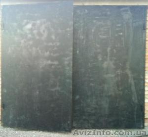 Ворота гаражные глухие с калиткой, ворота гаражные глухие 3*2,5h - Изображение #2, Объявление #1577968