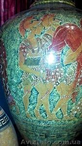 Ваза напольная 145 см.Ручная роспись керамики в Греческом стиле. - Изображение #3, Объявление #1604906