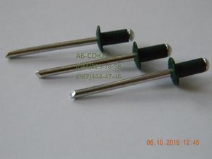Вытяжные заклепки RAL 6005 зеленый мох размер 4*8 - Изображение #1, Объявление #1658774