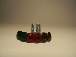Саморез пресшайба окрашенные для крепления профнастила. - Изображение #4, Объявление #1658788