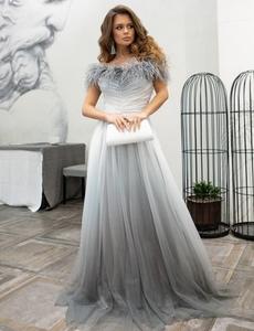 Нарядное вечернее платье в пол с переливами - Изображение #1, Объявление #1707192