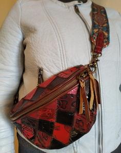 Стильная женская сумка в винтажном стиле с широким ремешком - Изображение #4, Объявление #1707242