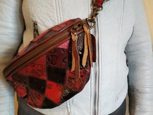 Стильная женская сумка в винтажном стиле с широким ремешком - Изображение #5, Объявление #1707242