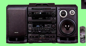Музыкальный центр Aiwa Z-D3200M Блочная конструкция Сделано в Японии! - Изображение #1, Объявление #1706332
