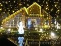 оформление фасадов к новому году и другим праздникам Киев и область