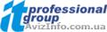 «IT Professional Group» предлагает сотрудничество по поиску,  подбору и оценке IT