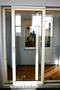 Раздвижные  двери – выходы на балкон. Окна