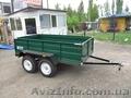Прицеп двухосный для легковых авто  ПГМФ-8304-2, 5 грузовой