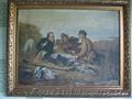 Есть старые и современные живописные картины . Можно переслать почтой.