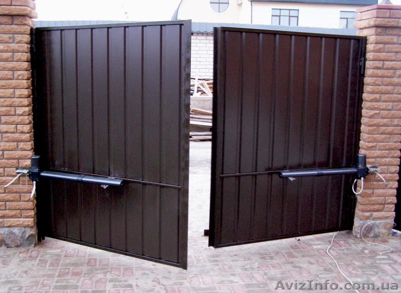 въездные дачные ворота