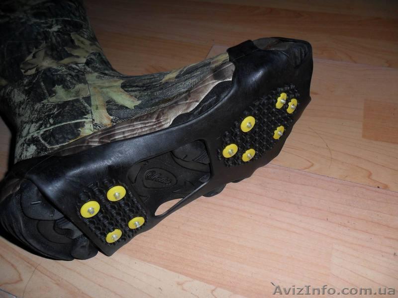 Шипы на обувь от гололеда своими руками