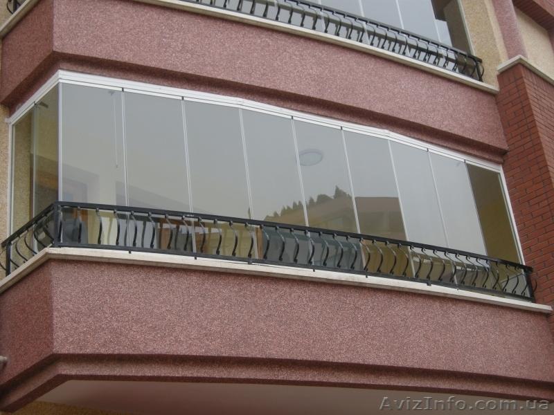 Безрамное остекление балконов и лоджий цены..
