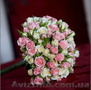 Свадебная арка из живых цветов,  Столик для росписи