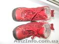 Продам зимние ботинки для девочки BG бу натуральная кожа на нат.меху