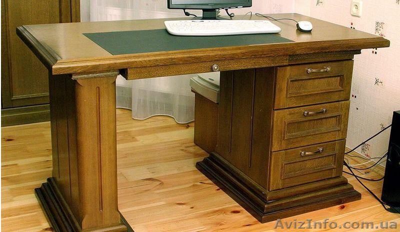 Письменный стол изготовление.