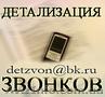 Услуга Детализация звонков