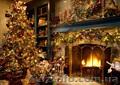 новогодние гирлянды,  хвойные гирлянды,  новогодние декорации