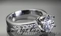 Кольцо из белого золота с бриллиантом Tiffany & Co (Тиффани), Объявление #805930