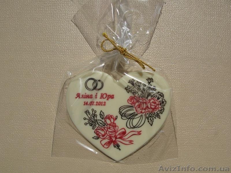 ... Шоколадні подарунки гостям весілля від ТОВ Шоколадний сувенір -  Изображение  2 facf2cefe2beb