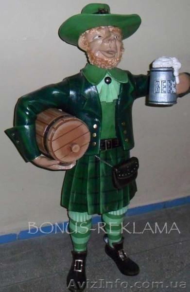 Декоративная фигура-Ирландец ., Объявление #865058