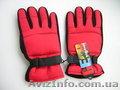 Мужские перчатки Marlboro (с наружи красные,  а на ладони чёрные). Новые,