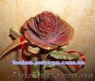 Кованые розы - необычный подарок для девушки