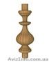 Мебельная балясина деревянная