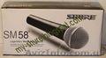 Продается  вокальный шнуровой микрофон Shure SM58 цена – 120 грн