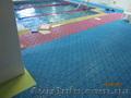 Модульное напольное покрытие для бассейнов и аквапарков собственного производств