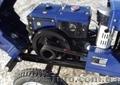 Мототрактор Булат-120 со стартером, фрезой, плугом - Изображение #4, Объявление #1032927