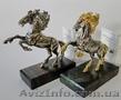 Продажа Серебряная миниатюрная скульптура  коня